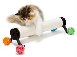Игровой комплекс - когтеточка Kitty City для кошек: Компас.  Play Zone : 39*36*36см, сизаль (sp0305 - фото 4629