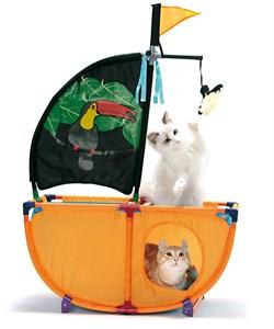 Игровой комплекс Kitty City для кошек: Карибская жемчужина: Caribbean Cruiser : 86*60*31см (sp0337 - фото 4640