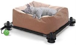 Лежак Kitty City для кошек: Сладкий сон: Slumber Bed: 15*45*45см (sp0318). - фото 4643