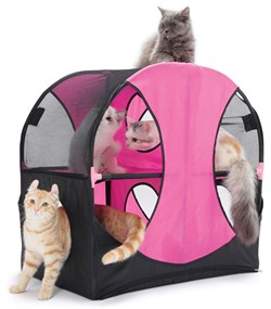 Игровой комплекс Kitty City для кошек: Колесо обозрения.  Wheel of Fun : 66*66*43см (sp0229). - фото 4655
