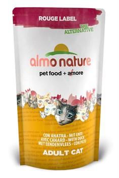 Сухой корм ALMO NATURE New 100% Fresh Rouge label The Alternative Cat Duck для взрослых кошек с уткой - фото 4741
