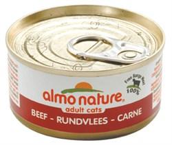 Консервы ALMO NATURE Classic Adult Cat Beef для взрослых кошек с говядиной - фото 4791