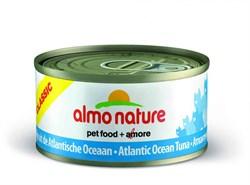 Консервы ALMO NATURE Classic Adult Cat Atlantic Tuna для взрослых кошек с атлантическим тунцом - фото 4839
