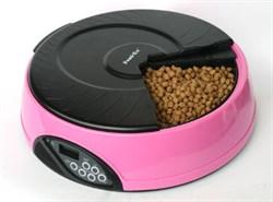 Автокормушка для сухого и влажного корма Feedex PF2 на 4 кормления для кошек и собак - фото 4849