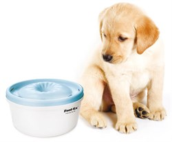 Автоматическая поилка фонтан для кошек и собак Feed-Ex PW-05B. Цвет голубой - фото 4859