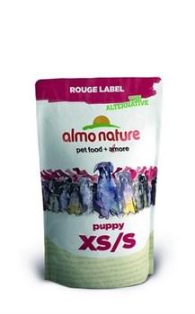 Сухой корм ALMO NATURE Rouge label The Alternative Extra Small Pupp для щенков карликовых пород с курицей - фото 5020