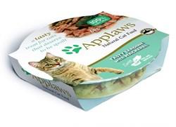 """Консервы APPLAWS Cat Tasty Sardine with Mackerel для взрослых кошек """"Лакомые сардинки со скумбрией"""" - фото 7734"""