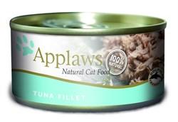Консервы APPLAWS для взрослых кошек с филе тунца Cat Tuna Fillet - фото 7748