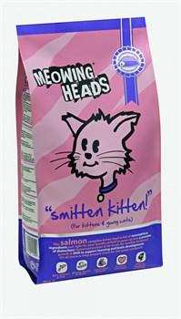"""Сухой корм BARKING (MEOWING) HEADS для котят с лососем курицей и рисом """"Поразительный котенок"""" - фото 7768"""