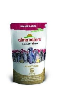 Сухой корм ALMO NATURE Rouge label The Alternative Small/Chicken для малых пород с курицей - фото 7796