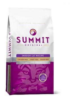 Сухой корм SUMMIT ORIGINAL 3 Meat Cat Recipe для котят и кошек три вида мяса с цыпленком, лососем и индейкой - фото 7856