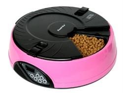 Автокормушка для любого типа корма Feedex PF6 на 6 кормлений для кошек и собак - фото 8021
