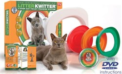 Cистема для приучения кошки к туалету Litter Kwitter - фото 8060
