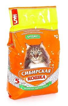 Впитывающий наполнитель Сибирская кошка Бюджет - фото 8123