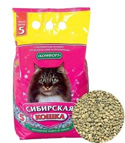 Впитывающий наполнитель Сибирская кошка Комфорт - фото 8125