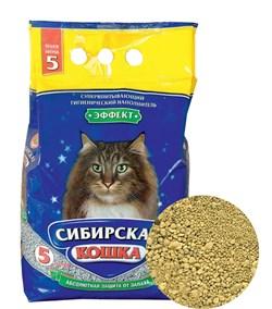 Впитывающий наполнитель Сибирская кошка Эффект - фото 8127