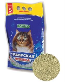 Комкующийся наполнитель Сибирская кошка Супер - фото 8133