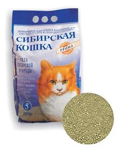 Комкующийся наполнитель Сибирская кошка Прима - фото 8136