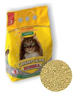 Комкующийся наполнитель Сибирская кошка Ультра - фото 8140