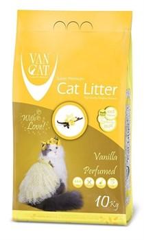 Комкующийся наполнитель VAN CAT Vanilla с ароматом Ванили без пыли