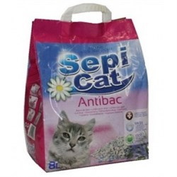Впитывающий наполнитель Sepiolsa Sepicat Antibac Антибактериальный - фото 8214