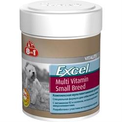 """""""8 in 1"""" Эксель Мультивитамины для собак мелких пород 70 таб. - фото 8246"""