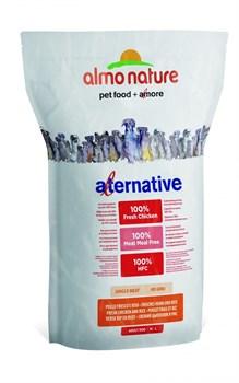 Сухой корм ALMO NATURE Alternative Fresh Chicken and Rice для собак средних и крупных пород со свежим цыпленком и рисом 50% мяса - фото 8334