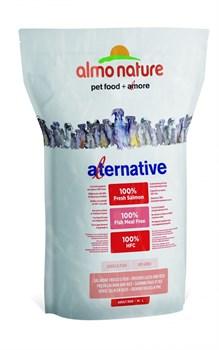 Сухой корм ALMO NATURE Alternative Fresh Salmon and Rice для собак средних и крупных пород со свежим лососем и рисом 50% мяса - фото 8336