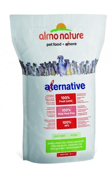 Сухой корм ALMO NATURE Alternative Fresh Lamb and Rice для собак средних и крупных пород со свежим ягненком и рисом 50% мяса - фото 8338