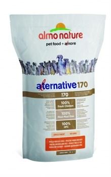 Сухой корм ALMO NATURE AlternativeFresh Chicken and Rice для собак средних и крупных пород со свежим цыпленком и рисом 75% мяса - фото 8342