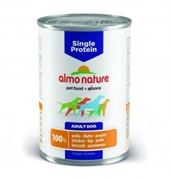 Консервы ALMO NATURE Single protein Chciken для собак с чувствительным пищеварением с курицей - фото 8495