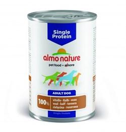 Консервы ALMO NATURE Single protein Veal для собак с чувствительным пищеварением с телятиной - фото 8499