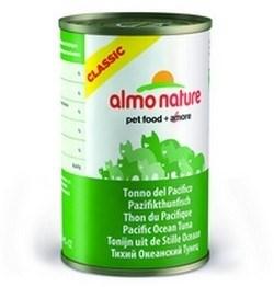 Консервы ALMO NATURE Classic Adult Pacific Тuna для взрослых кошек тихоокеанский тунец - фото 8550