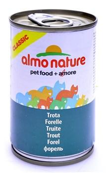 Консервы ALMO NATURE Classic Adult Trout для взрослых кошек с форелью - фото 8562