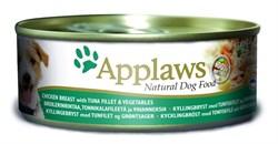 Консервы APPLAWS Dog Chicken/Tuna/Veg для собак с курицей, тунцом и овощами - фото 8680