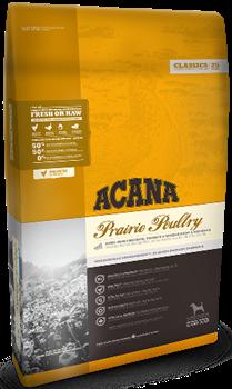 Сухой корм ACANA Classic PRAIRIE POULTRY для собак всех пород и возрастов с цыпленком, фруктами и овощами - фото 8744