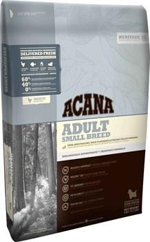 Беззерновой сухой корм ACANA Heritage Adult SMALL BREED для взрослых собак мелких пород - фото 8750
