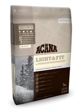 Беззерновой сухой корм ACANA Heritage Light/Fit для взрослых собак всех пород с повышенной массой тела с цыпленком и рыбой - фото 8754