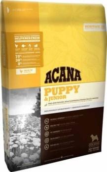 Беззерновой сухой корм ACANA Heritage PUPPY/JUNIOR для щенков средних пород - фото 8756