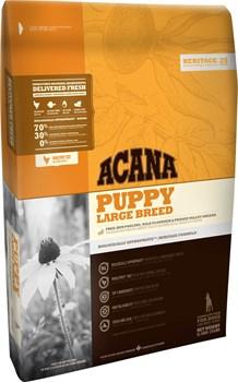 Беззерновой сухой корм ACANA Heritage PUPPY LARGE BREED для щенков крупных пород - фото 8758