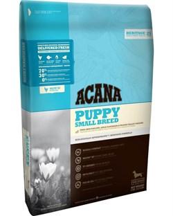 Беззерновой сухой корм ACANA Heritage PUPPY SMALL BREED для щенков мелких пород - фото 8760