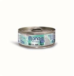 Консервы MONGE для взрослых кошек с морепродуктами и курицей 75% мяса - фото 8934