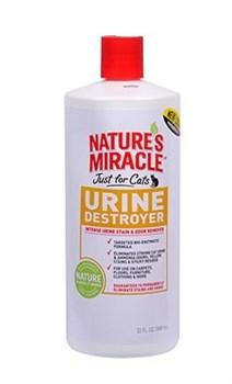 8in1 уничтожитель пятен, запахов и осадка от мочи кошек NM JFC Urine Destroyer 945 мл - фото 9071
