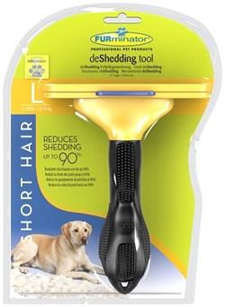 FURminator для собак крупных короткошерстных пород Short Hair Large Dog 10 см - фото 9279