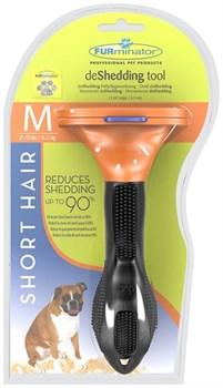 FURminator для собак средних короткошерстных пород Short Hair Medium Dog 7 см - фото 9283