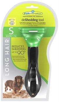 FURminator для собак мелких длинношерстных пород Long Hair Small Dog 4 см - фото 9285
