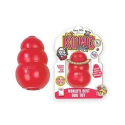 Игрушка для собак крупных пород KONG CLASSIC 10 x 6 см - фото 9315