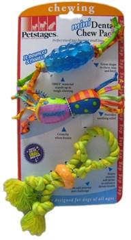 Набор из трех игрушек для собак мелких пород PETSTAGES - фото 9327