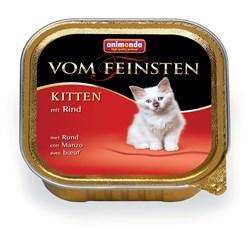 Консервы ANIMONDA Vom Feinsten Kitten для котят с говядиной - фото 9457