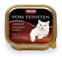 Консервы ANIMONDA Vom Feinsten Adult для взрослых кошек коктейль из разных сортов мяса - фото 9467